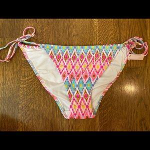New Victoria Secret bikini bottom sz Large Aztec